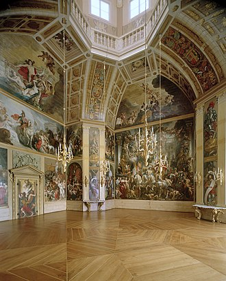 Huis ten Bosch palace - The Orange Hall (Dutch: Oranjezaal) in Huis ten Bosch