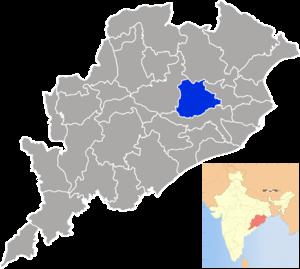 Dhenkanal district - Image: Orissa Dhenkanal