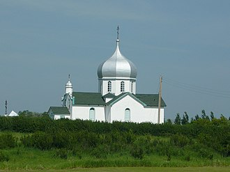 Krydor, Saskatchewan - Ukrainian Orthodox Church, Krydor