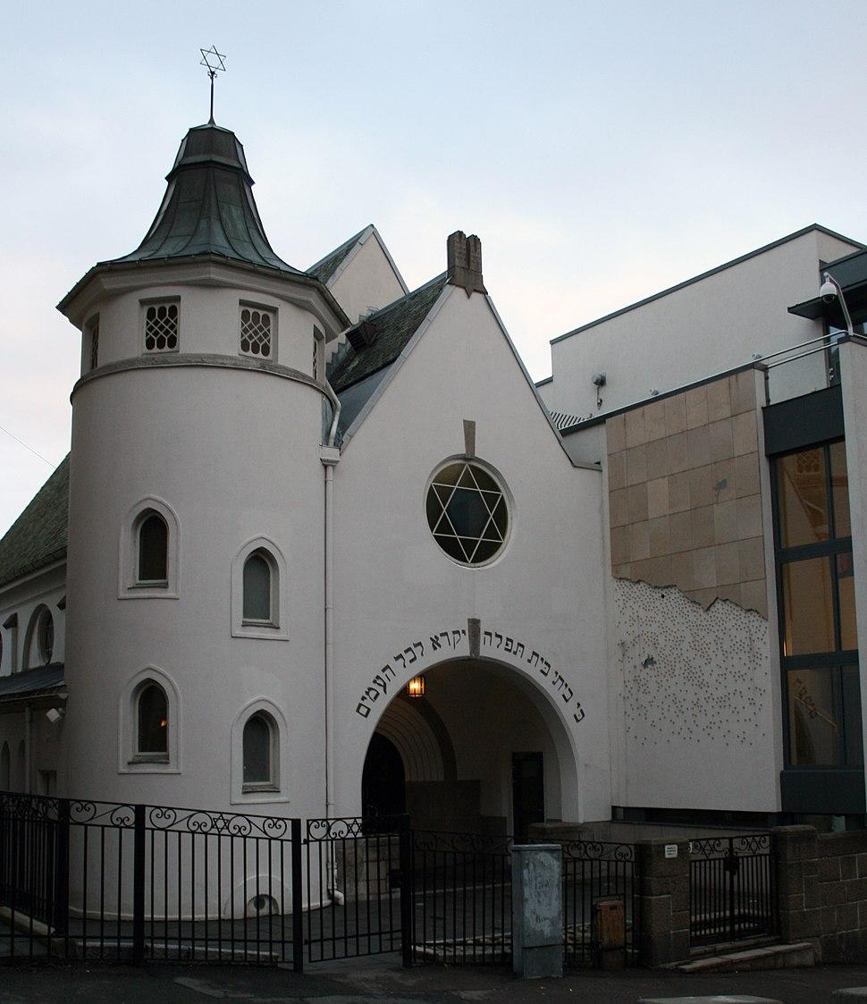Oslo synagogue bergstien
