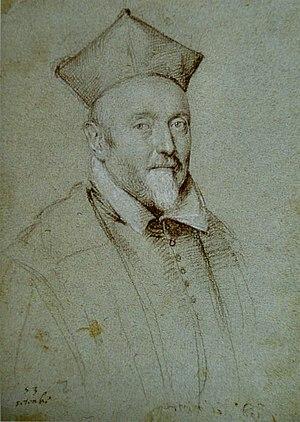 Francesco Maria del Monte - Portrait of Cardinal Francesco Maria del Monte by Ottavio Leoni