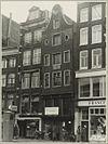 overzicht voorgevels twee winkels - amsterdam - 20319550 - rce