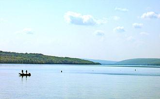 Owasco Lake - Owasco Lake, looking south.