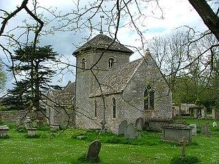 St Nicholas of Myras Church, Ozleworth Church in Gloucestershire, England