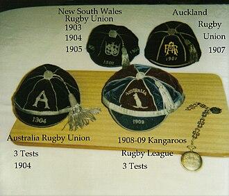 Pat Walsh (rugby) - Pat Walsh's representative honour caps