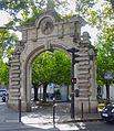 P1280436 Paris XV rue Morillons rue Brancion entree abattoirs Vaugirard rwk.jpg