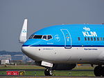 PH-BGN KLM Royal Dutch Airlines Boeing 737-7K2(WL) - cn 38125 taxiing, 25august2013 pic-2.JPG