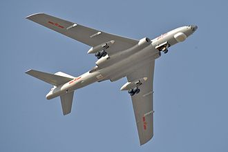 Xian H-6 - H-6 over Changzhou (2010)