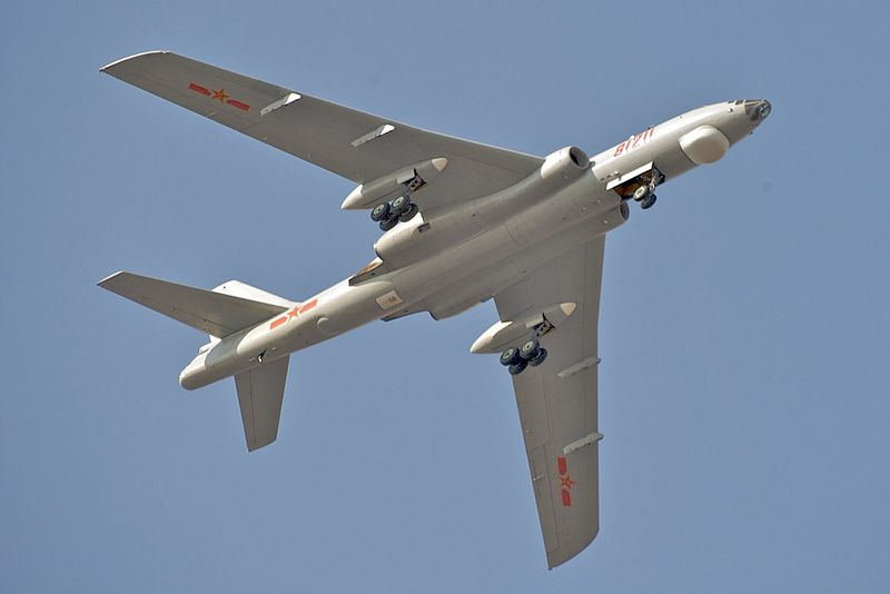 File:PLAAF Xian H-6M Over Changzhou.jpg