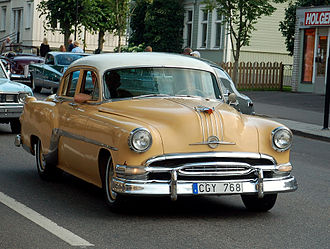 Pontiac Star Chief - 1954 Star Chief sedan
