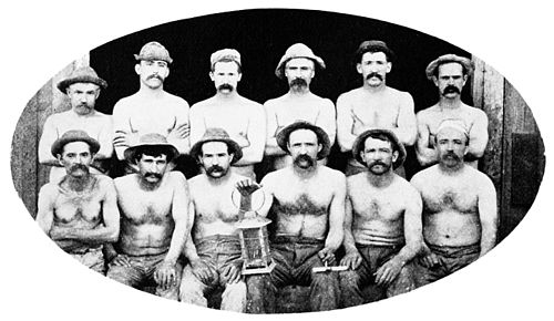 PSM V49 D776 Gould and curry miners ready for work.jpg