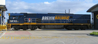 Pacific National - NR103 at Somerton in August 2005