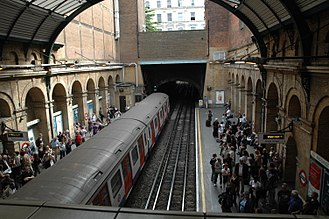 Paddington tube station (Bakerloo, Circle and District lines) - Image: Paddington station