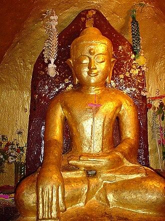 Shwezigon Pagoda - Buddha