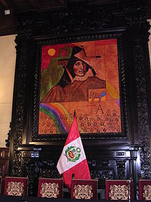 Painting in Presidential Palace in Peru.jpg