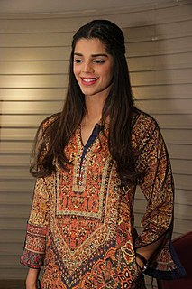 Sanam Saeed Pakistani actress, singer and model