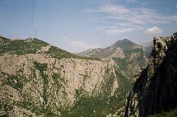 Bjerge i Paklenica