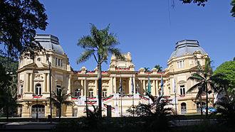 Laranjeiras - Palácio Guanabara, seat of government of the State of Rio de Janeiro.