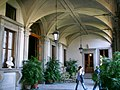 Palazzo Budini Gattai, loggetta.JPG