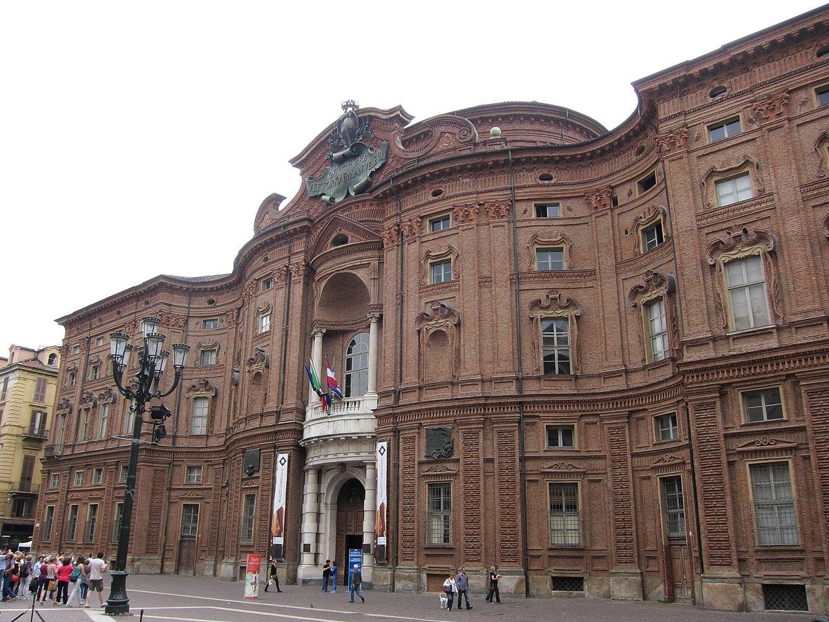Palazzo carignano wikipedia for Il parlamento italiano wikipedia