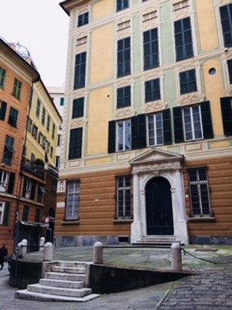 Genoa: Le Strade Nuove and the system of the Palazzi dei Rolli - Image: Palazzo Clemente Della Rovere 2
