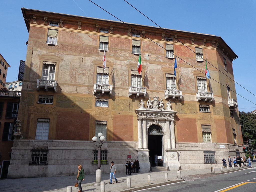 Palais d'Antonio Doria à Gênes - Photo de Superchilum