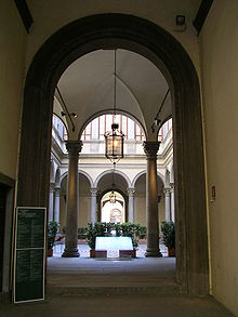 Courtyard Of Palazzo Strozzi Florence