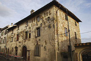 Galluzzo - Galluzzo: the palace of Podestà.