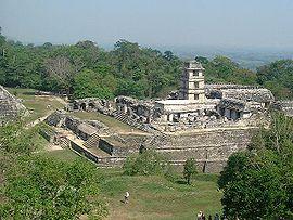 Ruínas de Palenque.