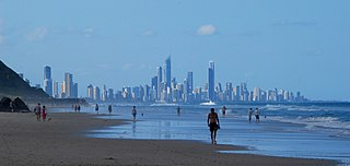 Palm Beach, Queensland Suburb of Gold Coast, Queensland, Australia