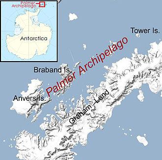 Palmer Archipelago - Image: Palmer archipelago, Antarctica