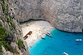 Panagiotis Schiffswrack am Navagio Strand (44652900570).jpg