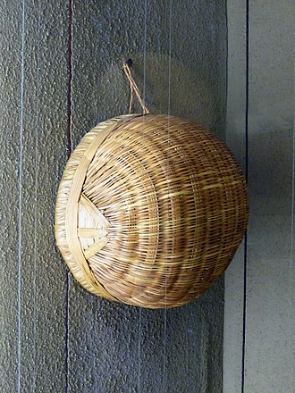Gurma people - A semi-sphere made by the Gurma in the Musée Africain in Lyon