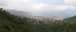 Panoramic view of Rize.