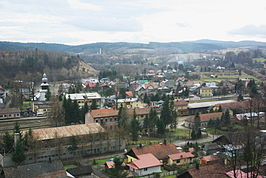 Panorama of old Zagórz 1.jpg