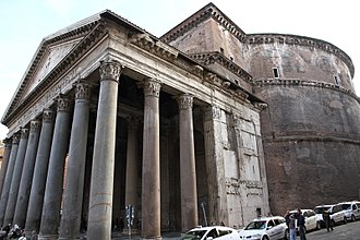 "Christianized sites - ""Santa Maria Rotonda"" (Pantheon)"