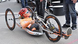 Christiane Reppe German Paralympic cyclist