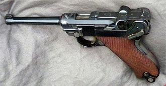 7.65×21mm Parabellum - Swiss Parabellum Model 1900 service pistol