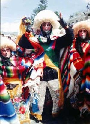 Parachico - Parachico dancers