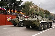 Parade in Tskhinvali 2009