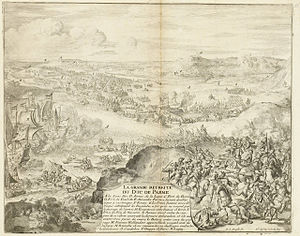 Siege of Caudebec - Image: Parama Retreat at Caudebec 1592