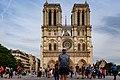 Paris (75004) Cathédrale Notre-Dame - Extérieur - Façade occidentale 04.jpg