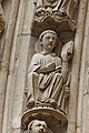 Paris - Cathédrale Notre-Dame - Portail du Jugement Dernier - PA00086250 - 079.jpg