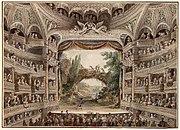 אולם תיאטרון במאה ה-18