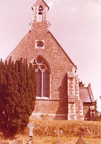 Bromham, Wiltshire - Chittoe Parish Church in 1976