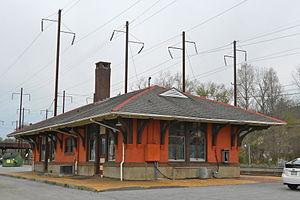 Parkesburg, Pennsylvania - Amtrak station