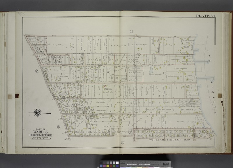 File:Part of Ward 5. (Map bound by Page sty (Beach), Raritan Bay, Surf Ave, Rockaway St, Belmont Ave, Sleight Ave, Amboy Road) NYPL1646301.tiff