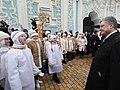 Participation of the President of Ukraine in the festive Christmas liturgy in Saint Sophia, Kiev 14.jpeg