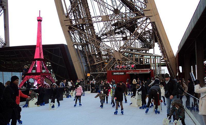 Pistas de patinação em Paris
