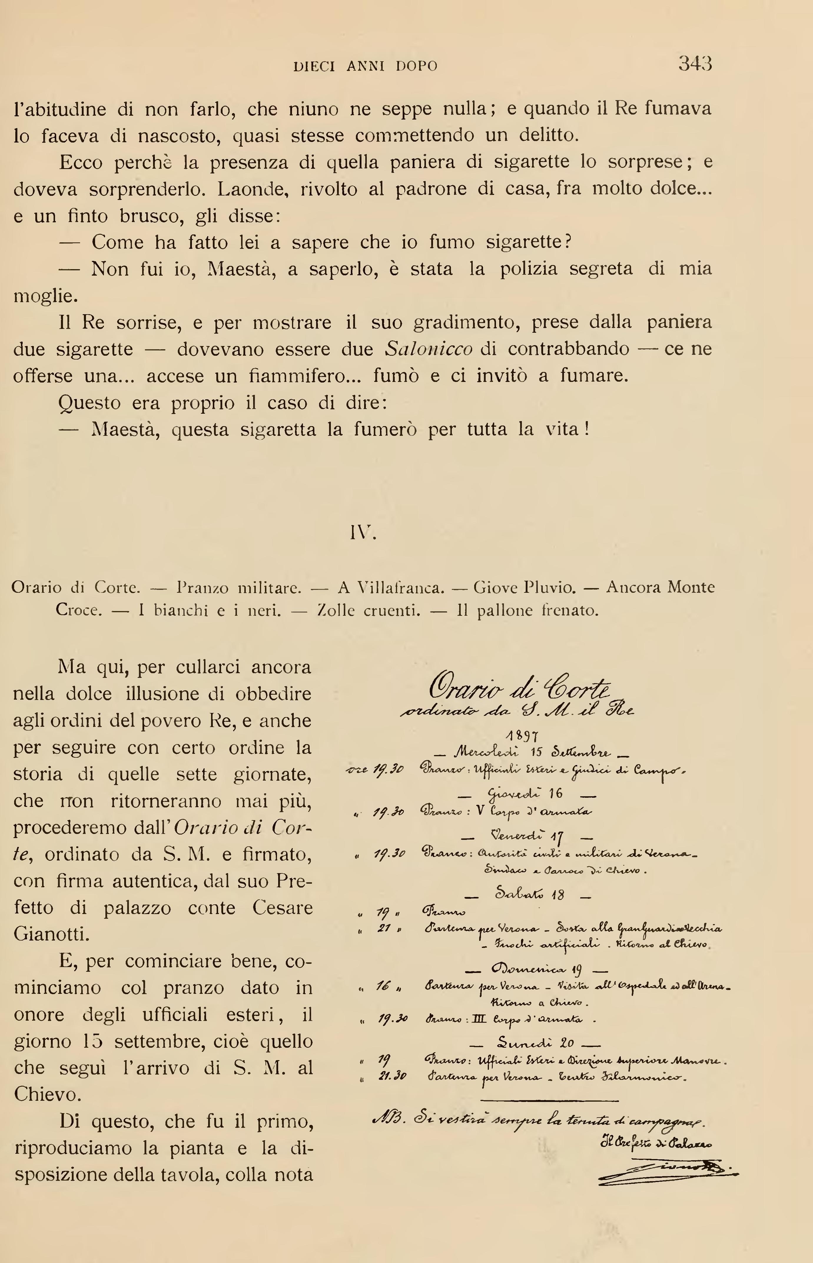Pagina patria esercito wikisource - La tavola degli ufficiali ...